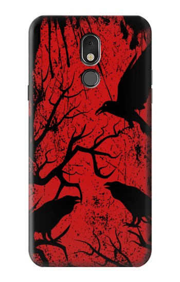 Printed Crow Black Tree LG Stylo 5 Case