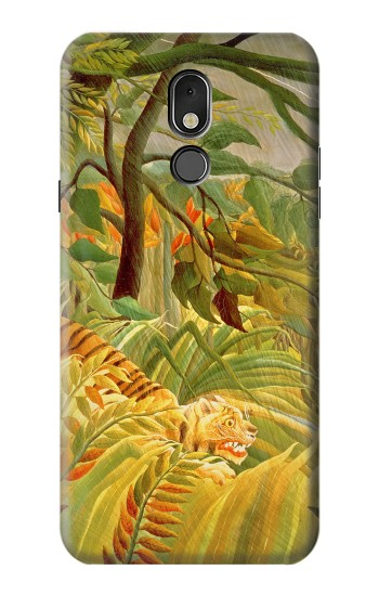 Printed Henri Rousseau Tiger in a Tropical Storm LG Stylo 5 Case