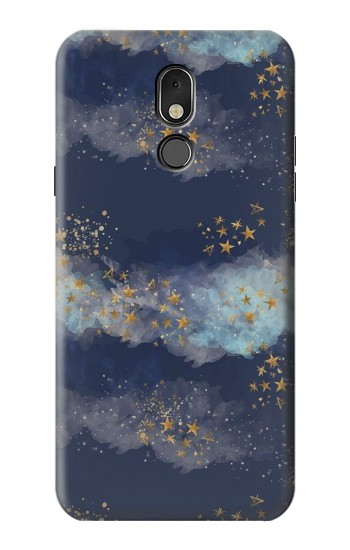 Printed Gold Star Sky LG Stylo 5 Case