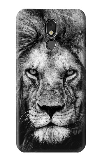 Printed Lion Face LG Stylo 5 Case