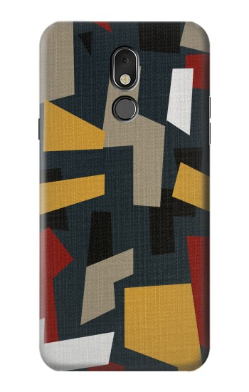Printed Abstract Fabric Texture LG Stylo 5 Case