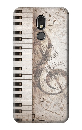 Printed Music Note LG Stylo 5 Case