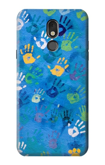 Printed Hand Print LG Stylo 5 Case