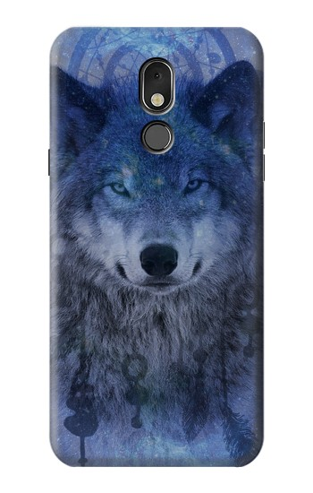Printed Wolf Dream Catcher LG Stylo 5 Case