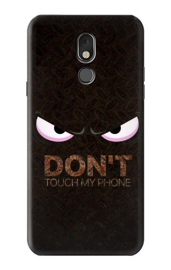 Printed Do Not Touch My Phone LG Stylo 5 Case