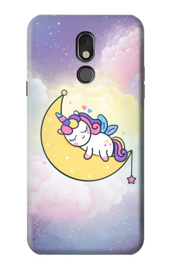 Printed Cute Unicorn Sleep LG Stylo 5 Case