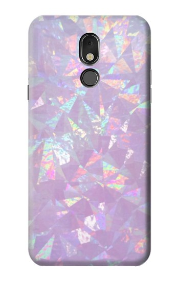 Printed Iridescent Holographic Photo Printed LG Stylo 5 Case