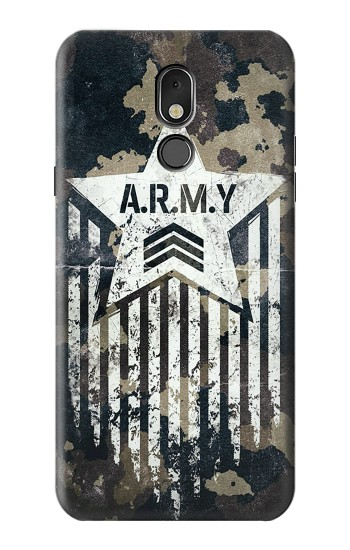Printed Army Camo Camouflage LG Stylo 5 Case