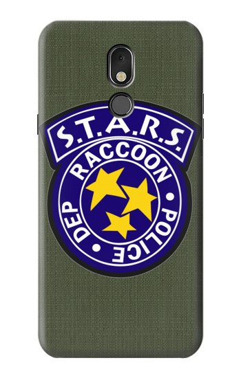 Printed Resident Evil Star Badge Chris Outfit LG Stylo 5 Case