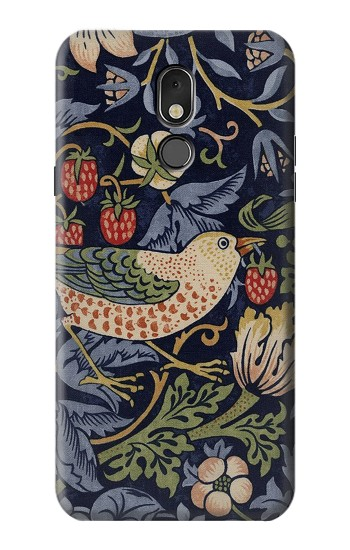 Printed William Morris Strawberry Thief Fabric LG Stylo 5 Case