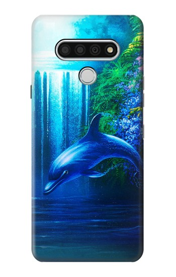 Printed Dolphin LG Stylo 6 Case