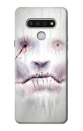 Printed Horror Face LG Stylo 6 Case