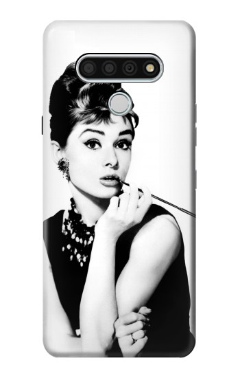 Printed Audrey Hepburn Breakfast at Tiffanys LG Stylo 6 Case