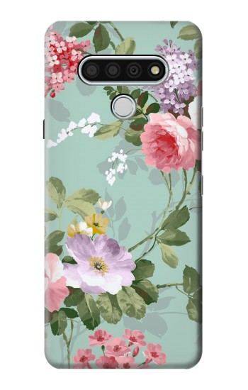 Printed Flower Floral Art Painting LG Stylo 6 Case