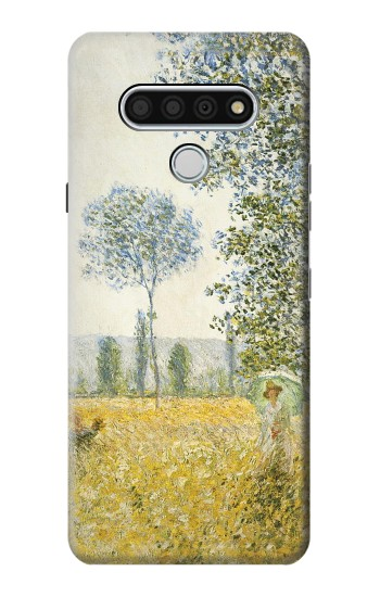 Printed Claude Monet Fields In Spring LG Stylo 6 Case
