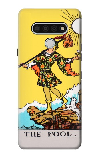 Printed Tarot Card The Fool LG Stylo 6 Case