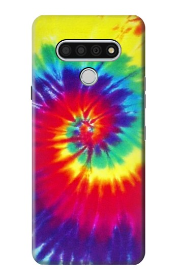 Printed Tie Dye Fabric Color LG Stylo 6 Case