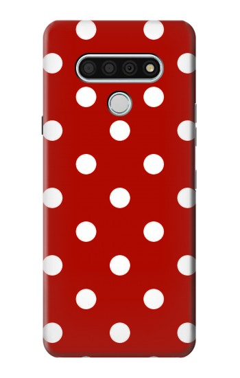 Printed Red Polka Dots LG Stylo 6 Case