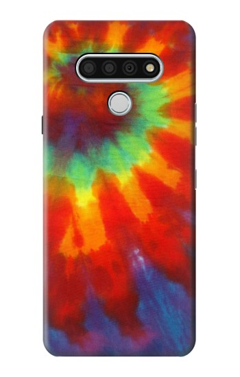 Printed Colorful Tie Dye Fabric Texture LG Stylo 6 Case