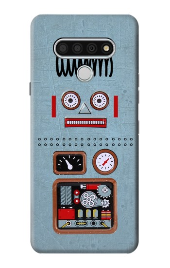 Printed Retro Robot Toy LG Stylo 6 Case
