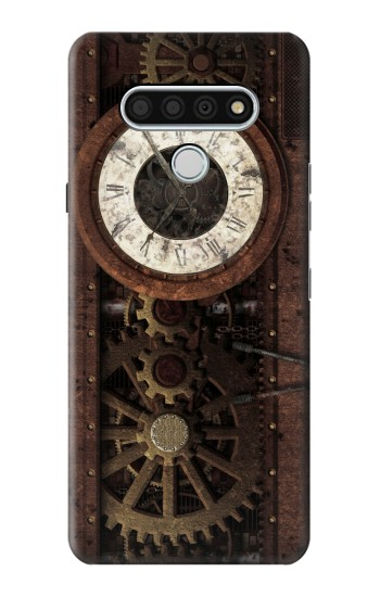 Printed Steampunk Clock Gears LG Stylo 6 Case