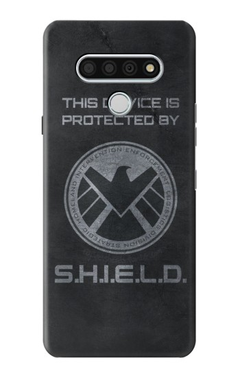 Printed This Device is Protected by Shield LG Stylo 6 Case