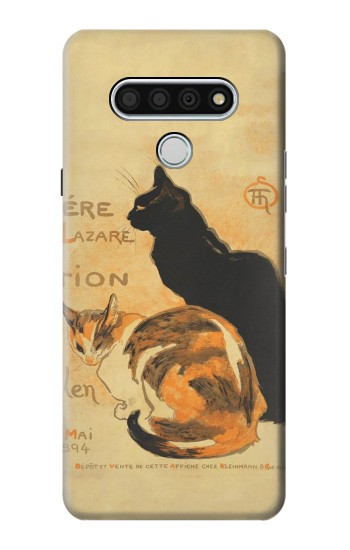 Printed Vintage Cat Poster LG Stylo 6 Case
