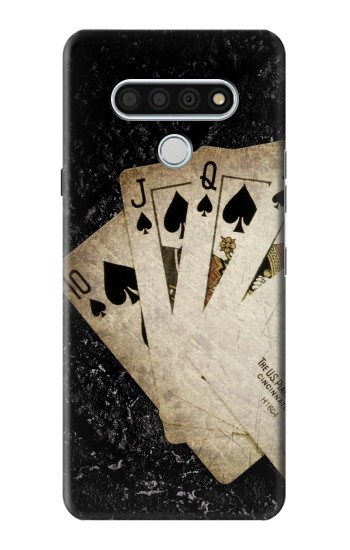Printed Vintage Royal Straight Flush Cards LG Stylo 6 Case