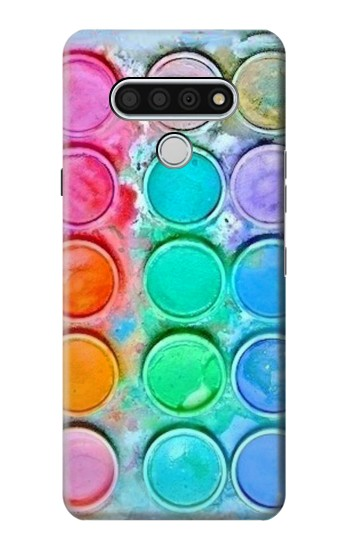 Printed Watercolor Mixing LG Stylo 6 Case