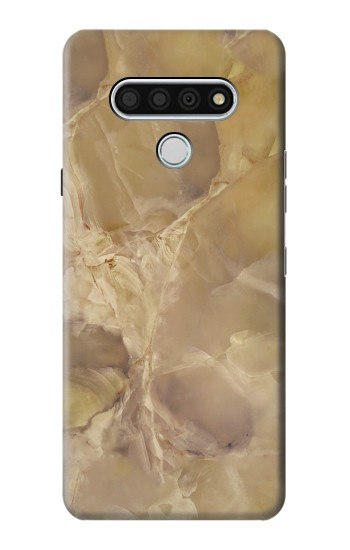 Printed Yellow Marble Stone LG Stylo 6 Case