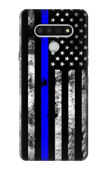Printed Thin Blue Line USA LG Stylo 6 Case