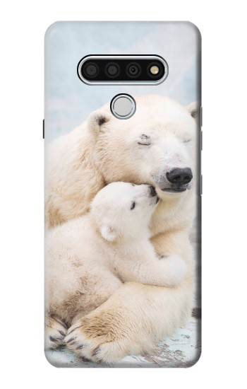 Printed Polar Bear Hug Family LG Stylo 6 Case