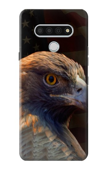 Printed Eagle American Flag LG Stylo 6 Case