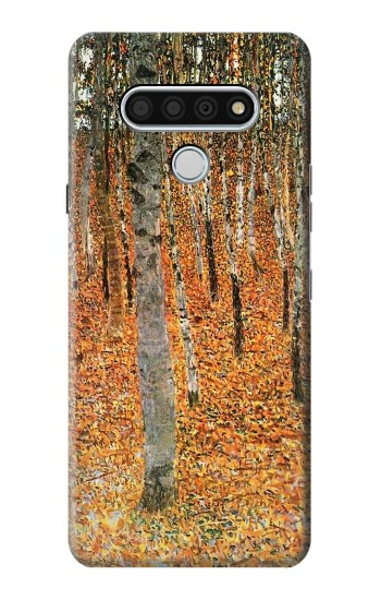 Printed Gustav Klimt Birch Forest LG Stylo 6 Case