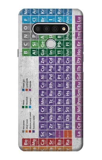 Printed Periodic Table LG Stylo 6 Case