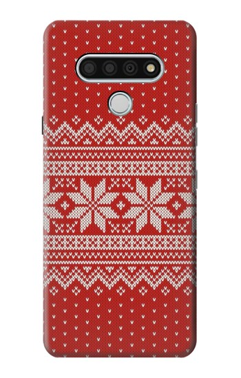 Printed Winter Seamless Knitting Pattern LG Stylo 6 Case