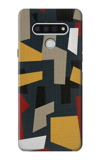 Printed Abstract Fabric Texture LG Stylo 6 Case