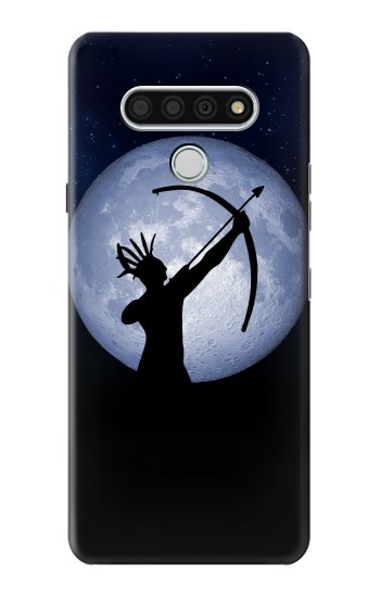 Printed Indian Hunter Moon LG Stylo 6 Case