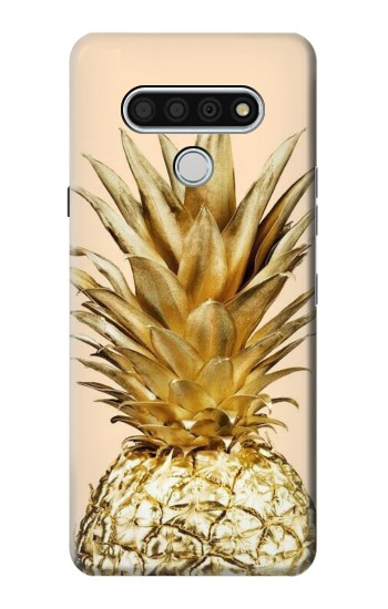 Printed Gold Pineapple LG Stylo 6 Case