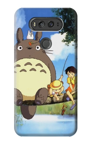 Printed Totoro and Friends LG G Flex 2 Case