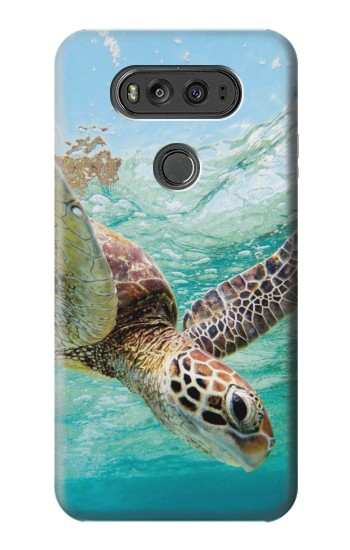 Printed Ocean Sea Turtle LG G Flex 2 Case