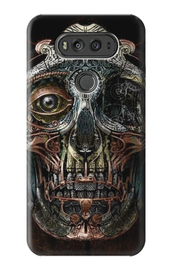 Printed Steampunk Skull Head LG G Flex 2 Case