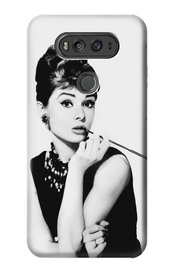 Printed Audrey Hepburn Breakfast at Tiffanys LG G Flex 2 Case