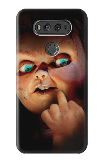 Printed Chucky Middle Finger LG G Flex 2 Case