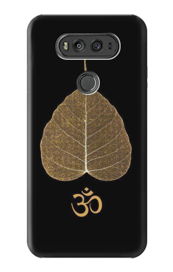 Printed Gold Leaf Buddhist Om Symbol LG G Flex 2 Case