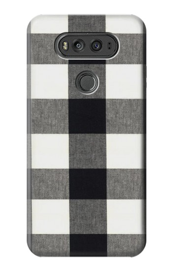 Printed Black and White Buffalo Check Pattern LG G Flex 2 Case