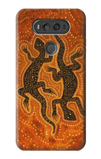 Printed Lizard Aboriginal Art LG G Flex 2 Case