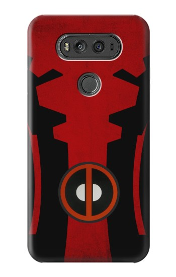 Printed Deadpool Costume Minimalist LG G Flex 2 Case