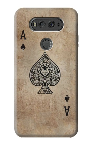 Printed Vintage Spades Ace Card LG G Flex 2 Case