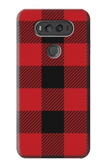 Printed Red Buffalo Check Pattern LG G Flex 2 Case